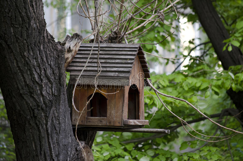 birdhouse lizenzfreie stockbilder