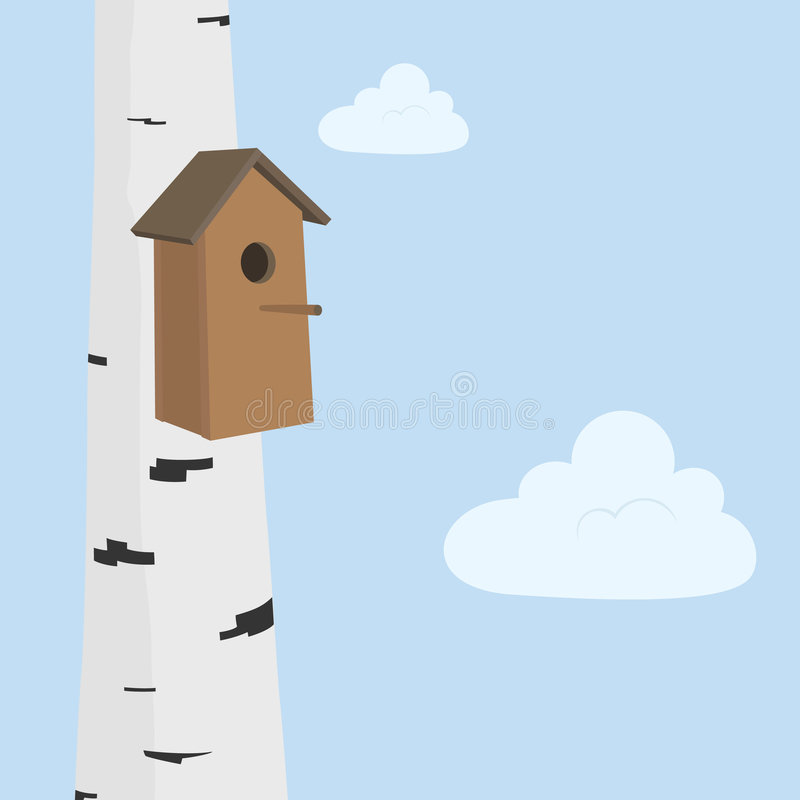 Birdhouse libre illustration