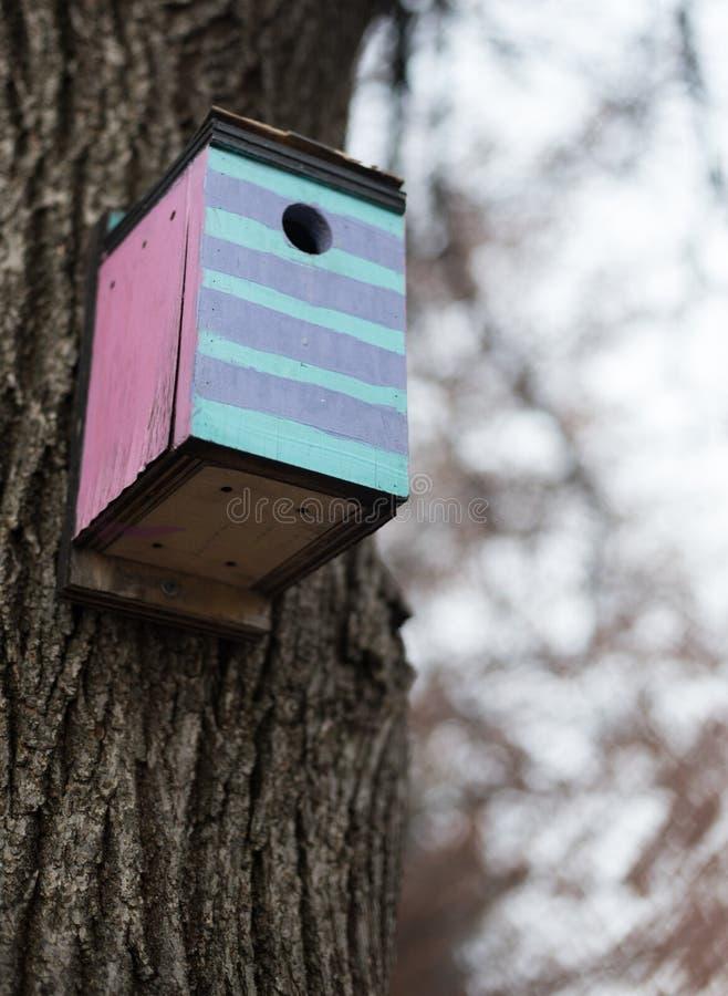 birdhouse lizenzfreies stockfoto