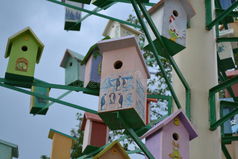 Birdhouse στοκ φωτογραφία με δικαίωμα ελεύθερης χρήσης