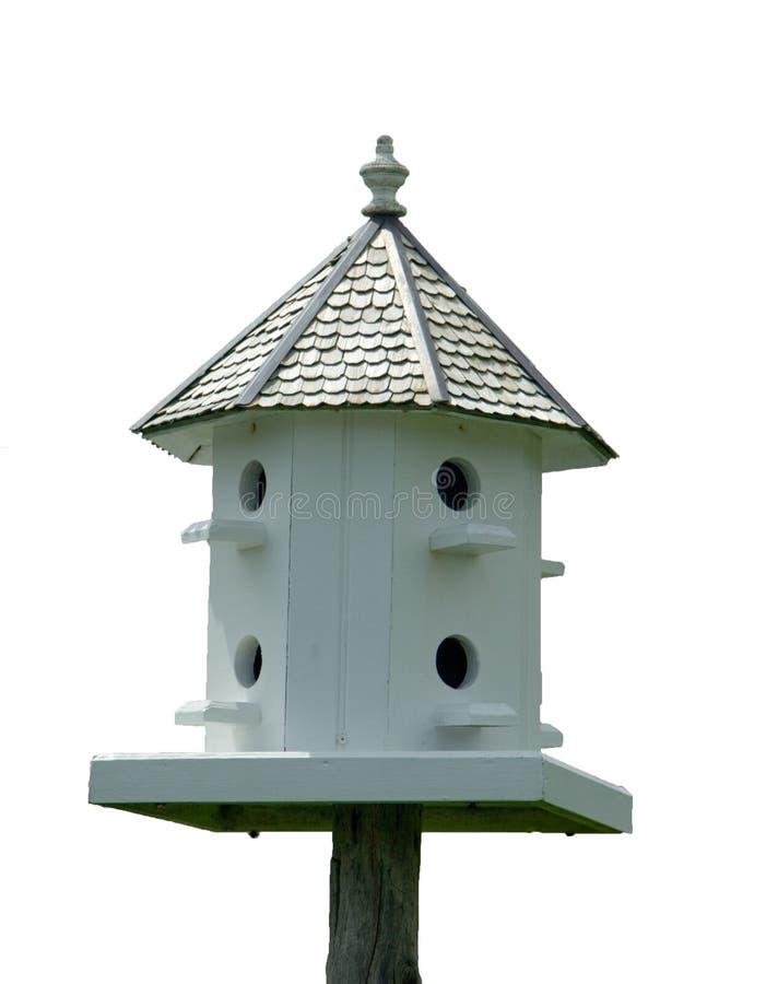 Birdhouse d'isolement photos stock