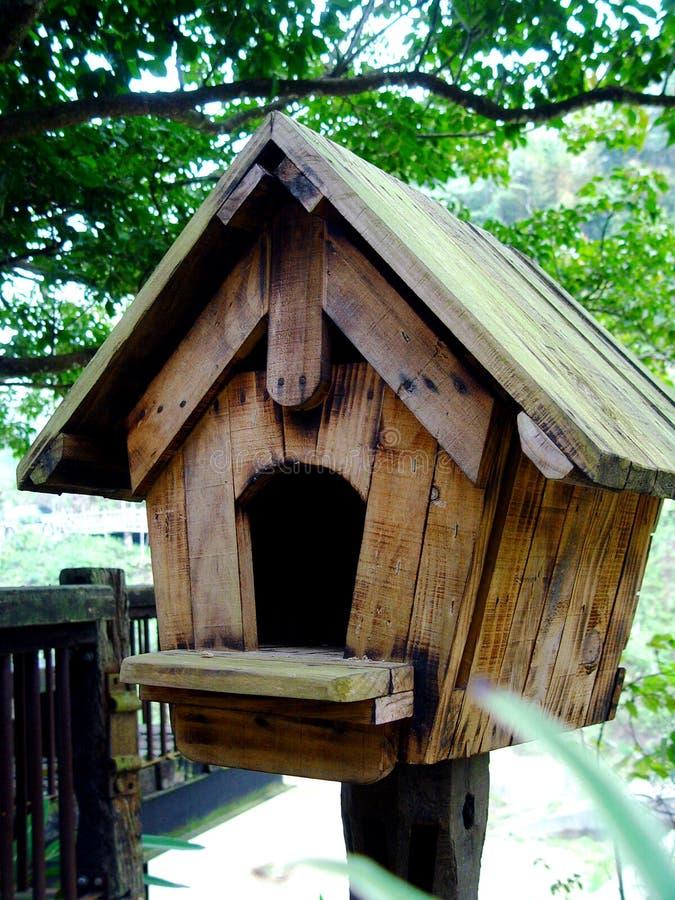 birdhouse drewna obraz stock