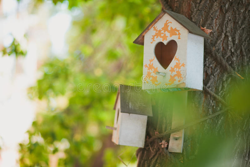 Download Birdhouse house for birds stock photo. Image of wood - 90513108