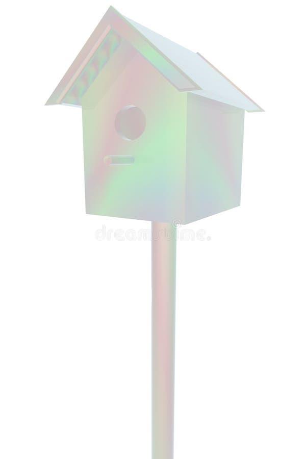 Birdhouse - pamiątka royalty ilustracja