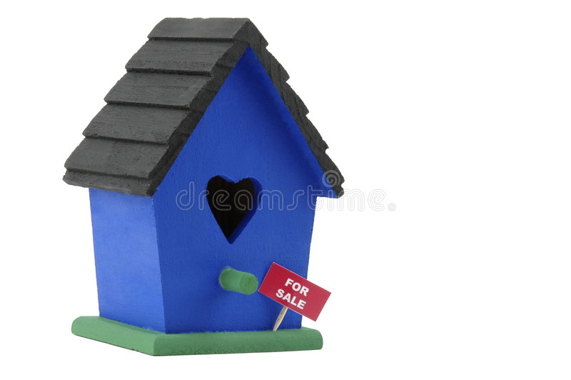 Birdhouse For Sale royalty free stock image