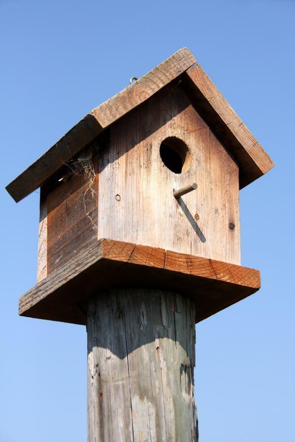 birdhouse wodden zdjęcie royalty free