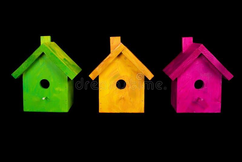 birdhouses royaltyfri fotografi
