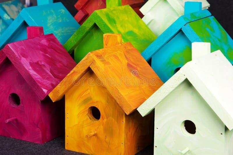 Birdhouses foto de stock royalty free