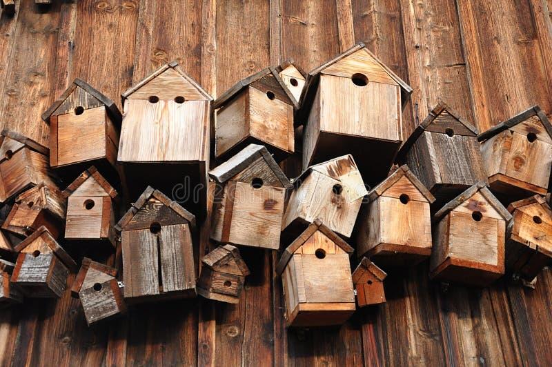 birdhouses stock foto