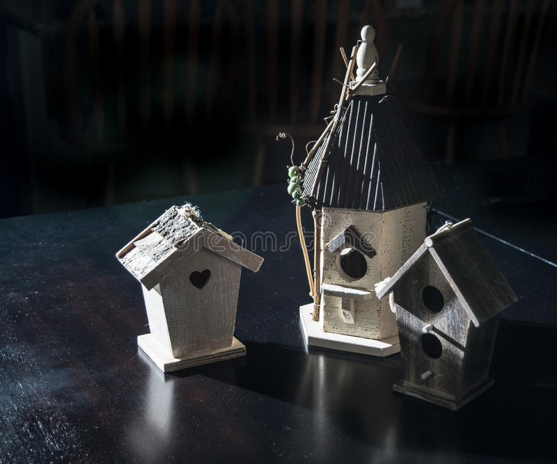 birdhouses immagine stock