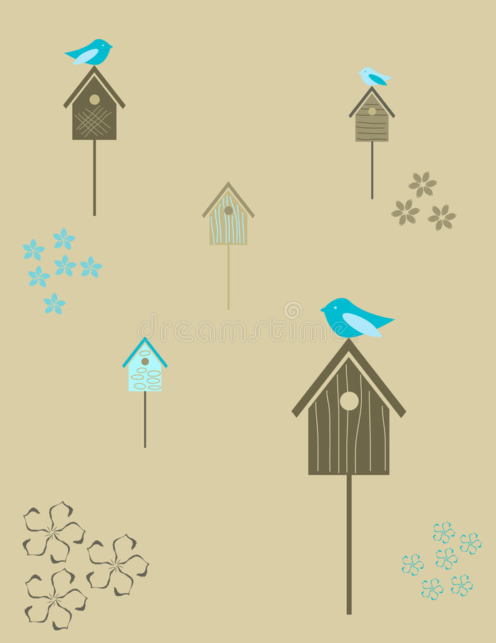 Free Birdhouses Royalty Free Stock Photography - 7248707
