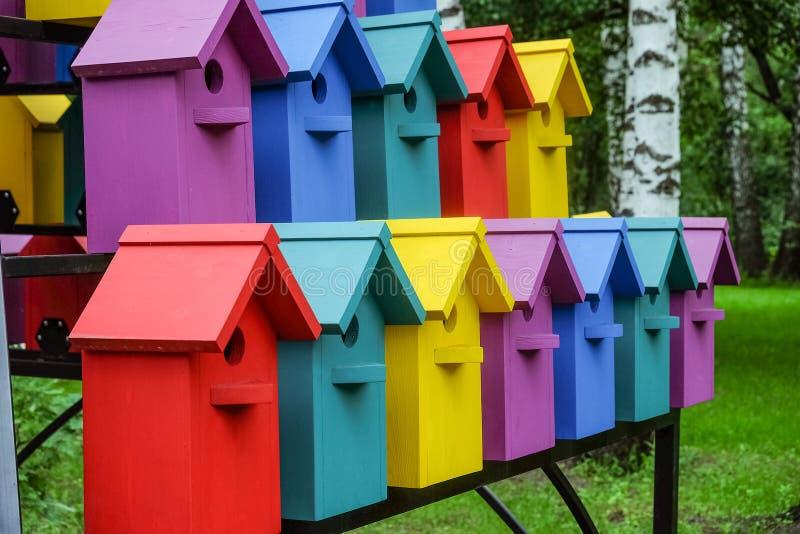 birdhouses royalty-vrije stock foto