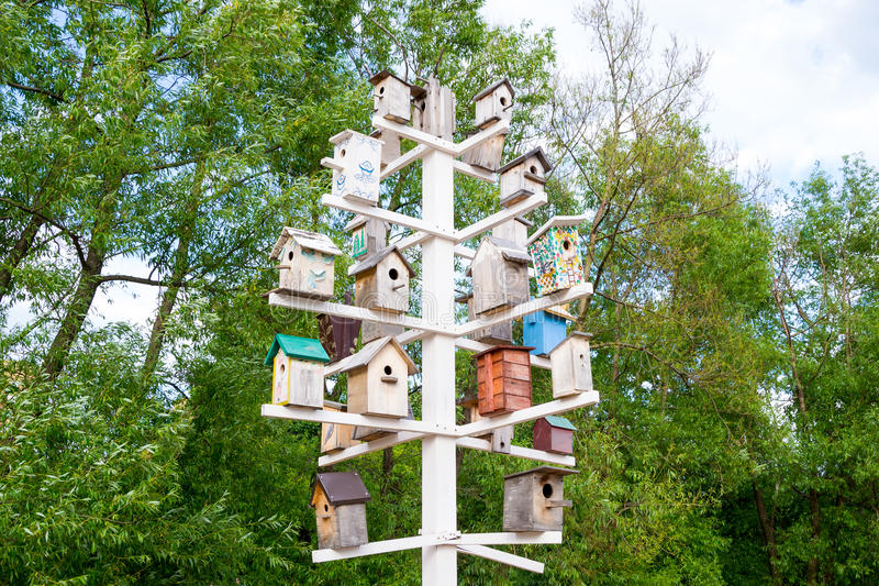 birdhouses royalty-vrije stock fotografie
