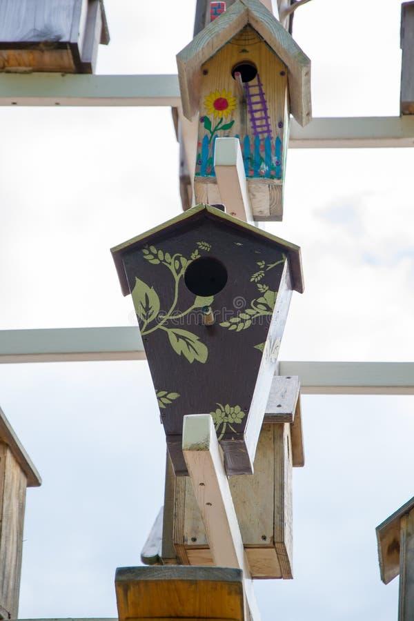 birdhouses royalty-vrije stock foto's