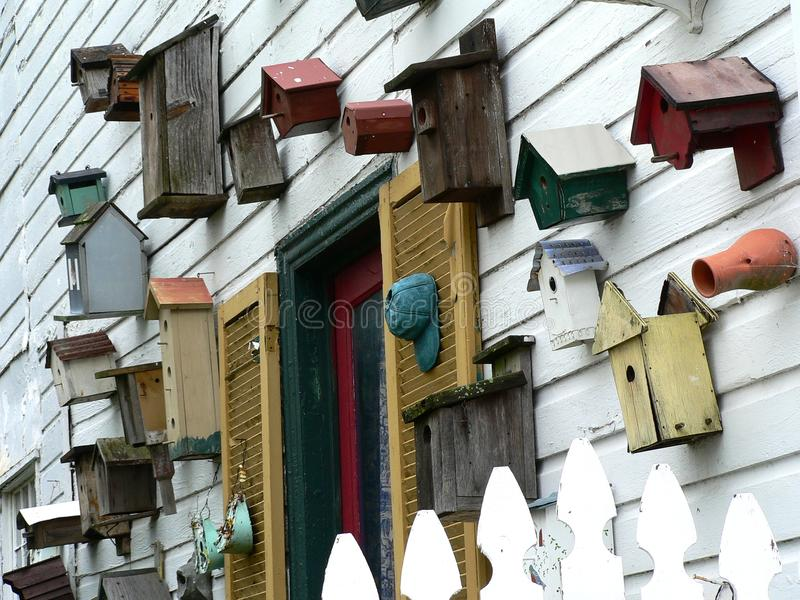 Download Birdhouses (landscape) Royalty Free Stock Photos - Image: 27309128