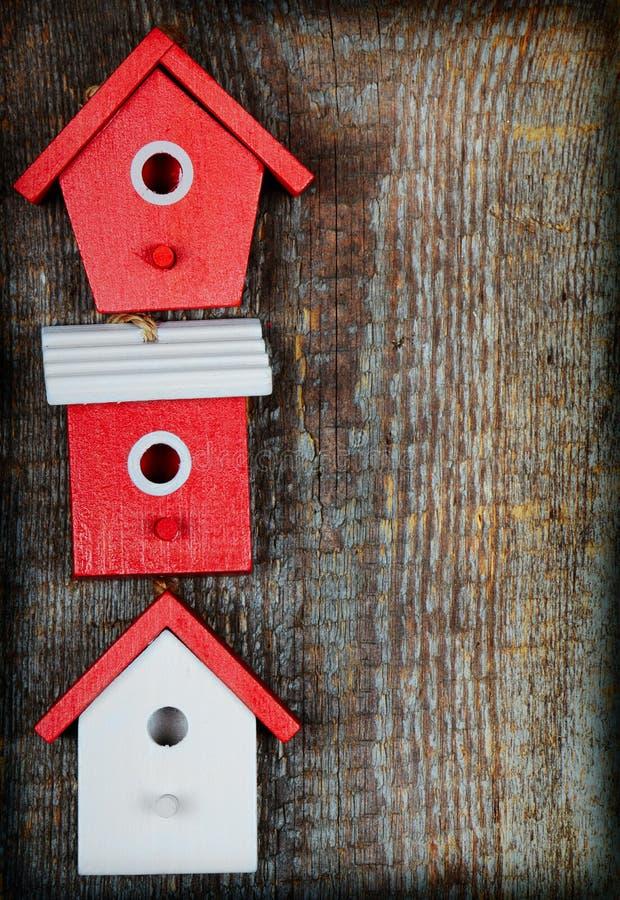 Birdhouses royalty free stock photos