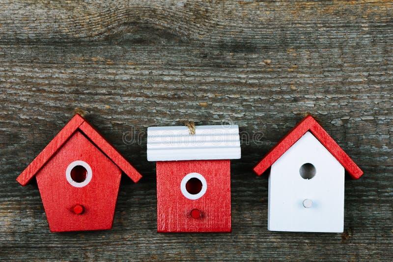 Birdhouses stock photos
