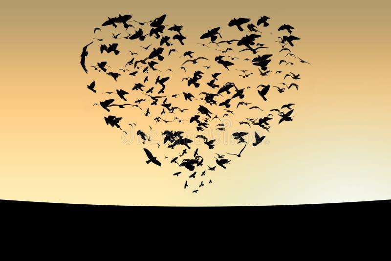 Birds royalty free illustration