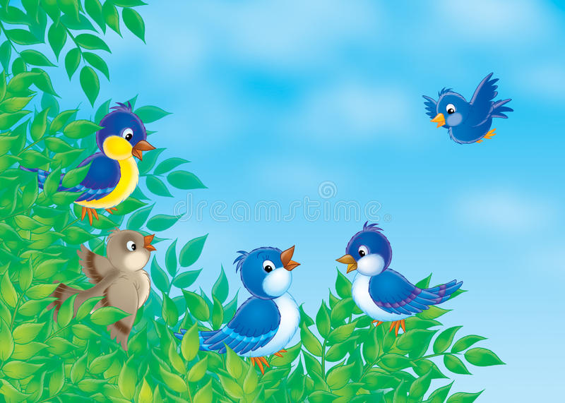 Download Birds Royalty Free Stock Images - Image: 14182059