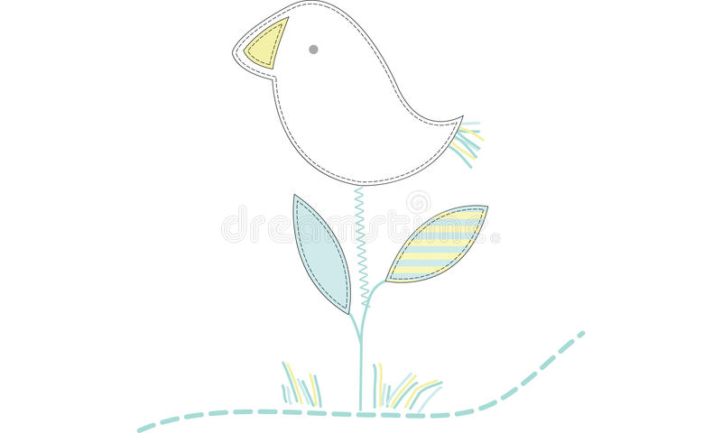 Birds blossom