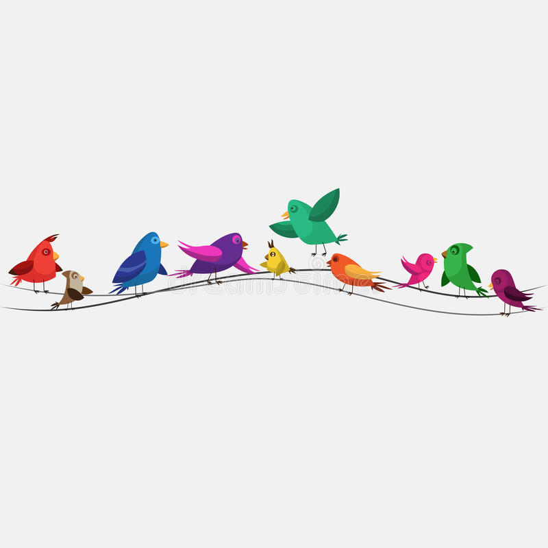 Download Birds stock image. Image of beak, branch, flying, bright - 36954941