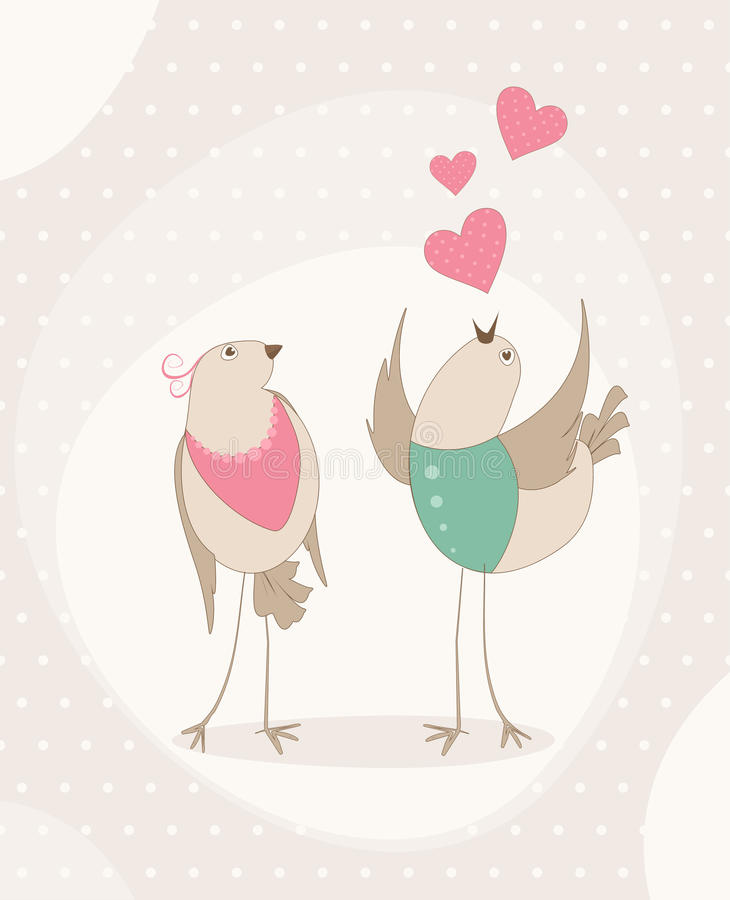 Download Birds In Love Stock Photography - Image: 28442692