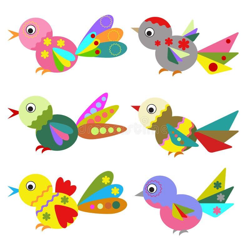 Birds , set. royalty free illustration