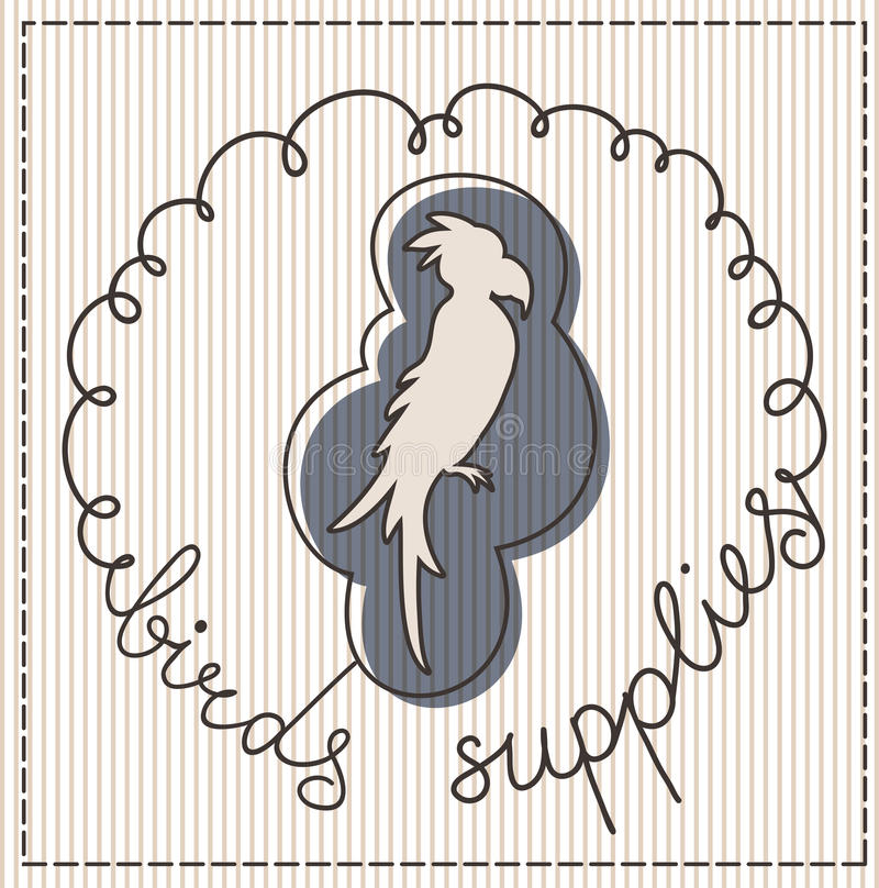 Download Birds Supplies Label Stock Image - Image: 30827371