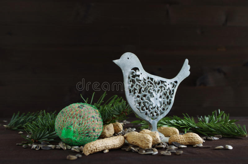 birdseed royalty-vrije stock afbeelding