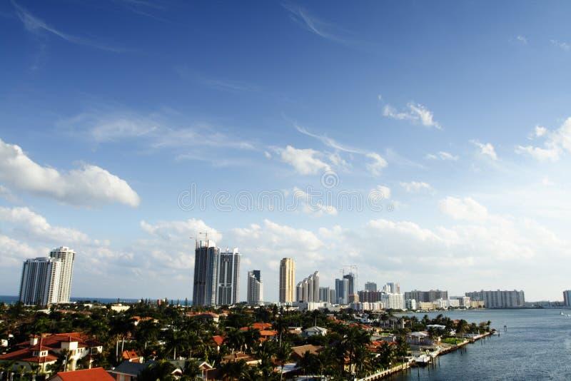 Birdseye di Miami immagini stock libere da diritti