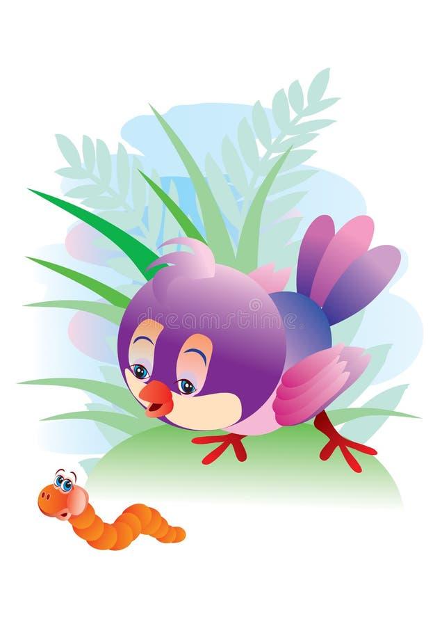 Birdy stock de ilustración