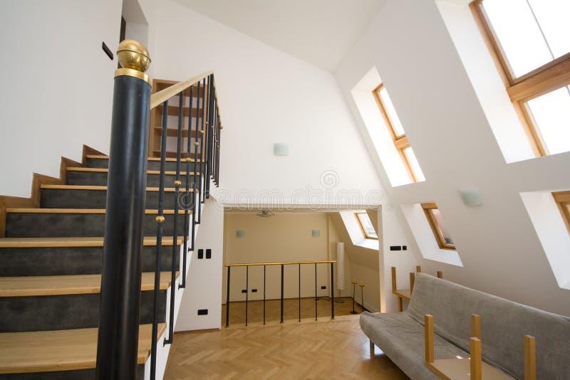 Download Modern bright interior stock image. Image of wooden, door - 24012297