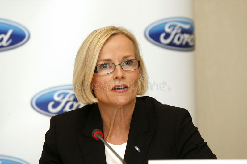 Birgit Behrendt - Ford Motor Company Editorial Stock Photo