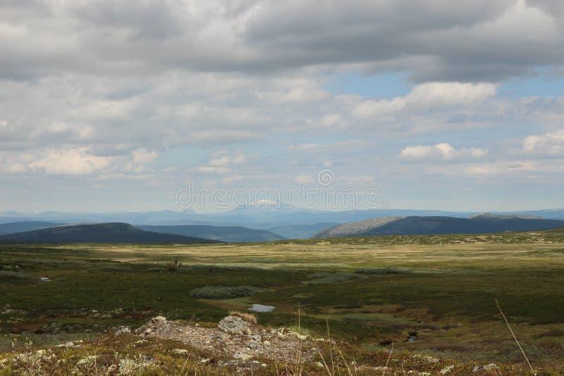 Birkebeinervegen Norvège photo stock