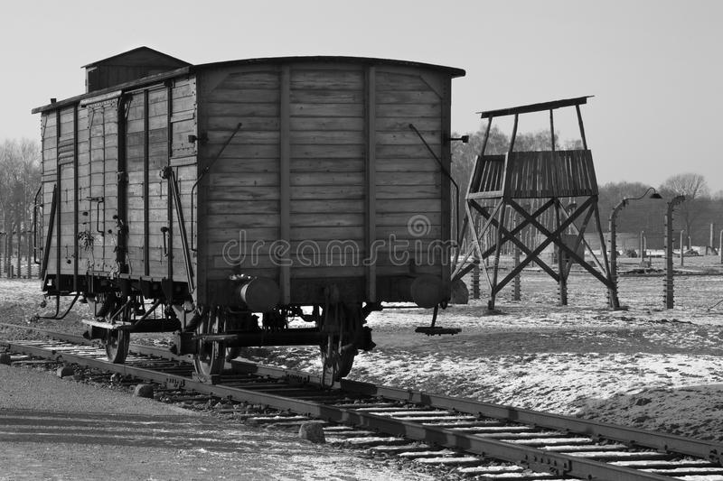 Download Birkenau Nazi Concentration Camp - Poland Editorial Image - Image of nazis, watchtower: 23355075