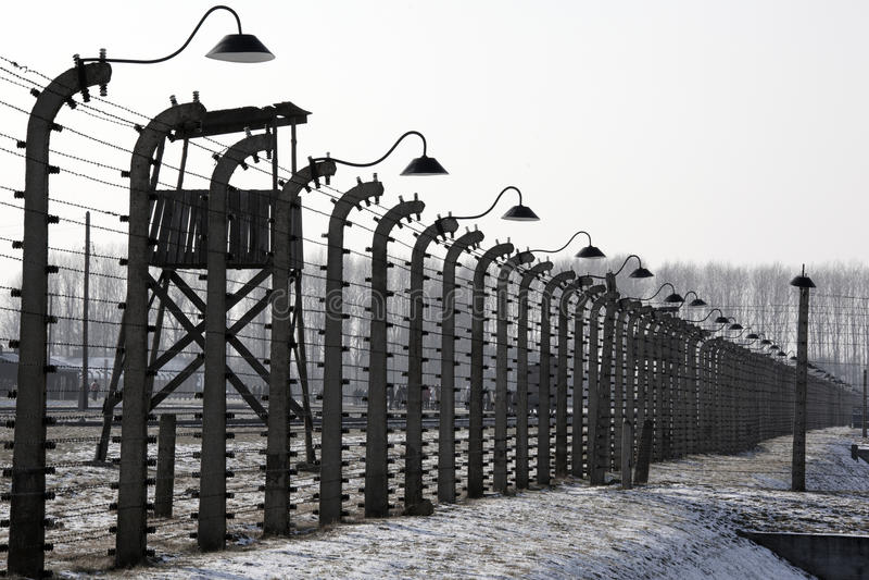 Download Birkenau Nazi Concentration Camp - Poland Editorial Photography - Image of wire, birkenau: 23355227