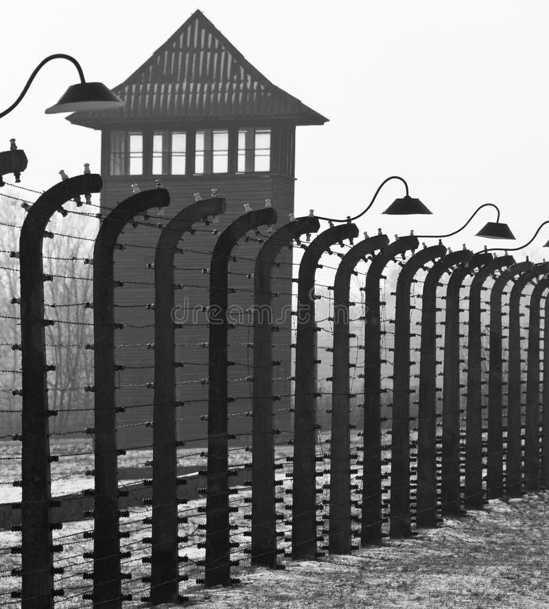 Birkenau NaziKonzentrationslager - Polen lizenzfreie stockbilder