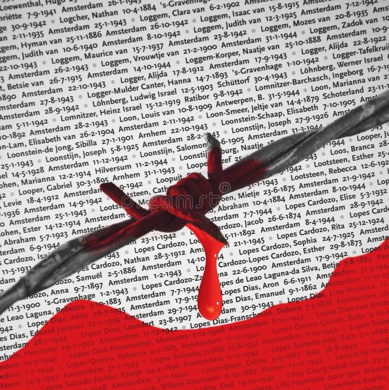 Birkenau NaziKonzentrationslager - Polen stockbild