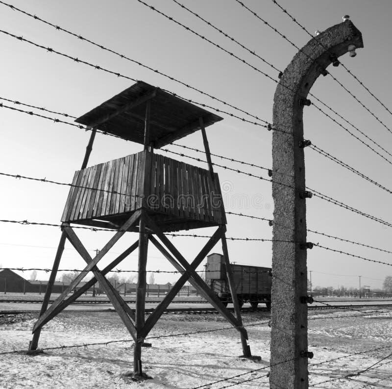 Birkenau NaziKonzentrationslager - Polen lizenzfreie stockfotos