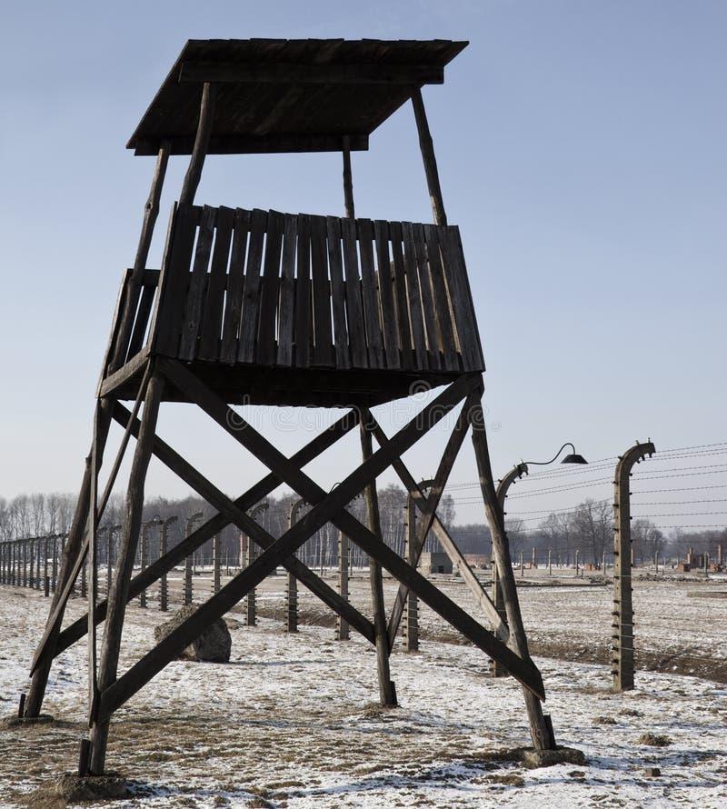 Birkenau NaziKonzentrationslager - Polen stockfotografie