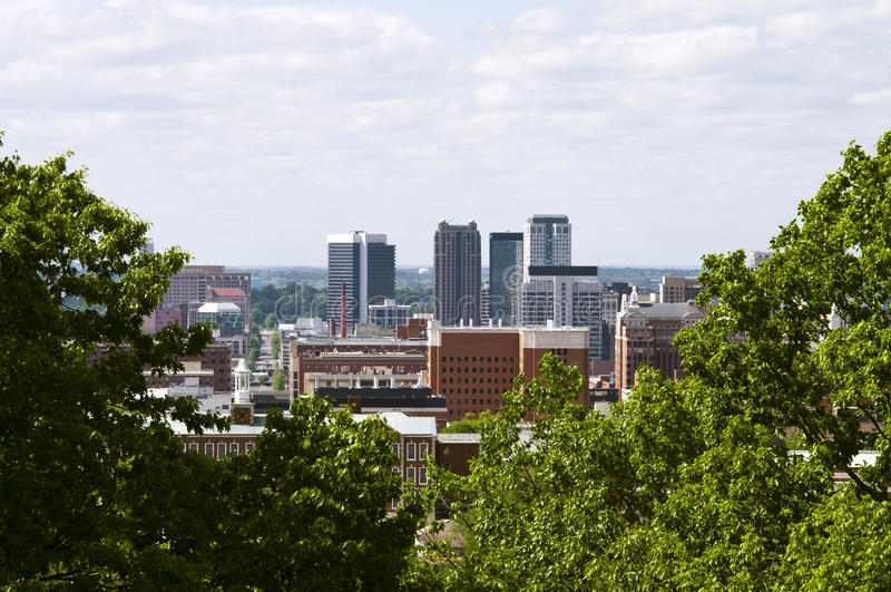 Birmingham Alabama imagem de stock