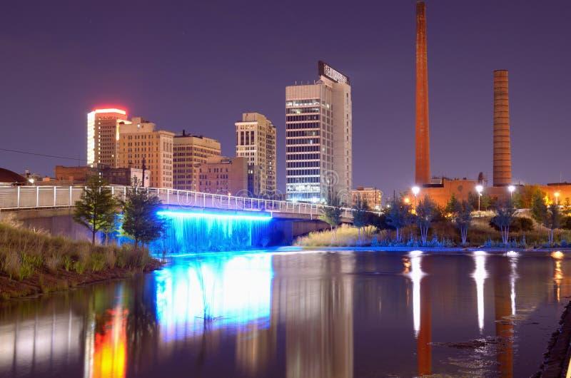 Birmingham, Alabama Linia horyzontu obraz royalty free