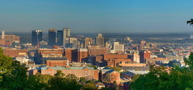 Birmingham, Alabama (Pano) stock fotografie