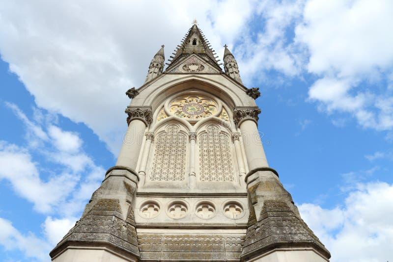 Birmingham - Albert Memorial royalty-vrije stock afbeeldingen