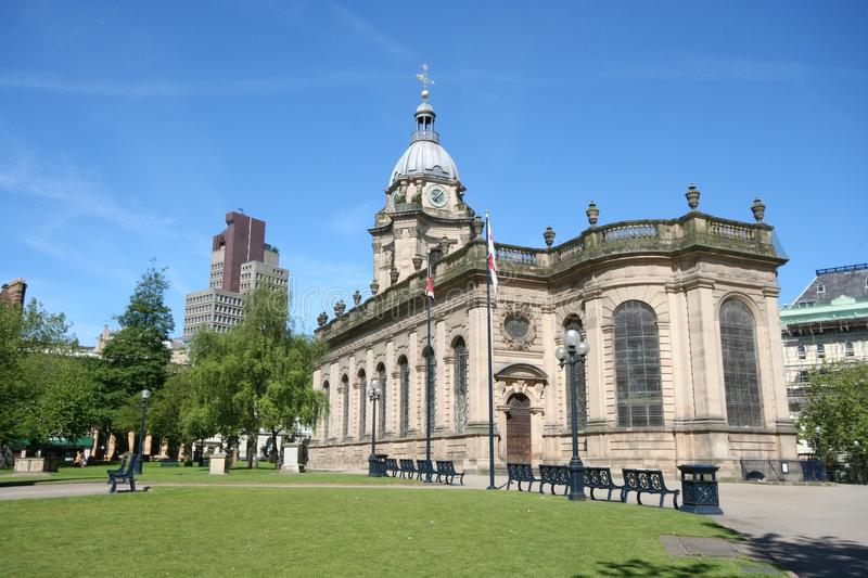 Birmingham Cathedral, Birmingham royalty free stock photo