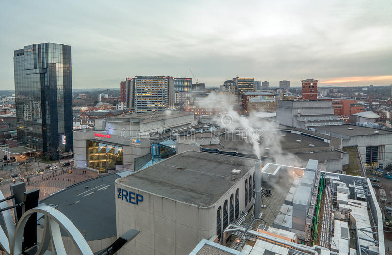 Birmingham City Skyline stock images