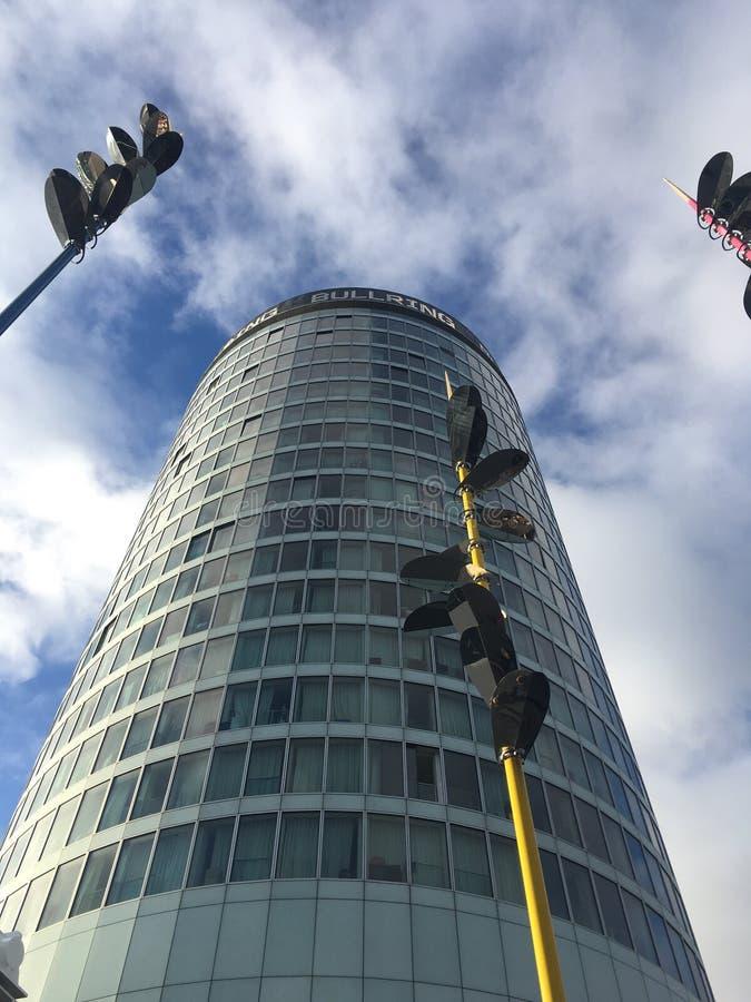 Birmingham city skyscraper stock image