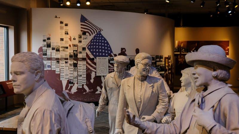 Birmingham Civil Rights Institute, Birmingham, Alabama, U. S. A photo libre de droits
