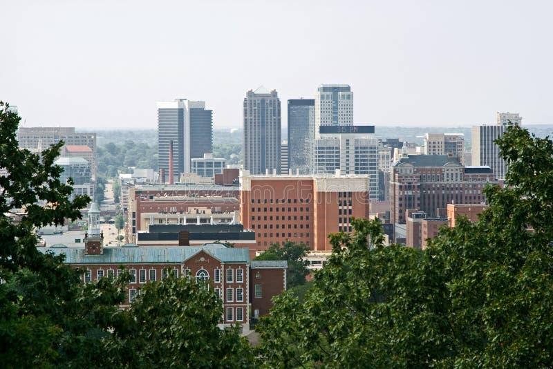 Birmingham da baixa fotografia de stock royalty free