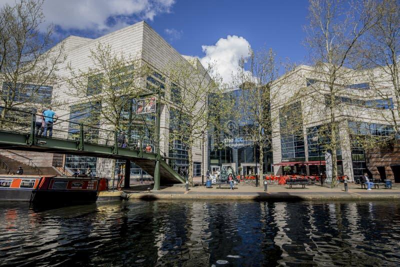 Birmingham, England, ICC am 3. Mai 2015 lizenzfreie stockbilder